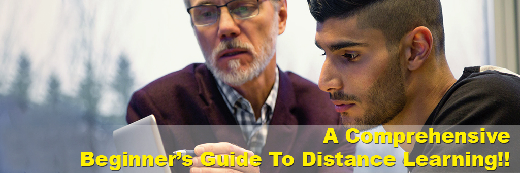 A comprehensive beginner's guide to distance learning!!