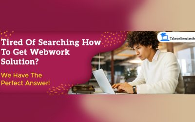 Tired of searching how to get Webwork solution? -We have the perfect answer!