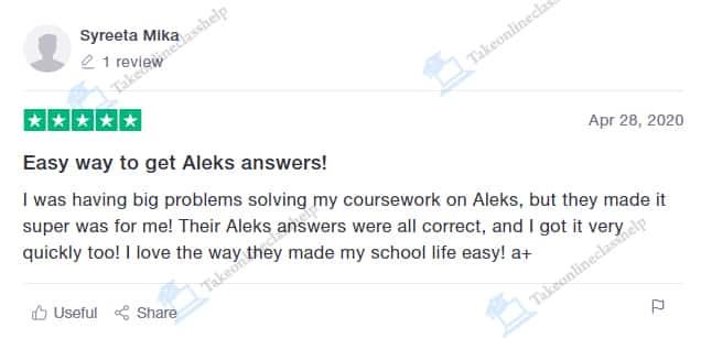 Aleks Answer Key